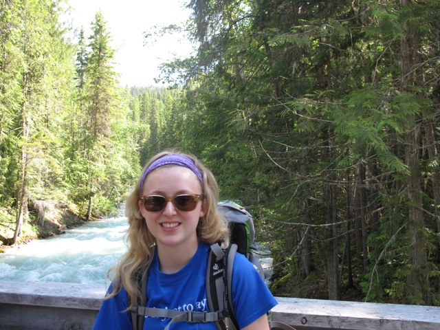 The author backpacking in the Rocky Mountains