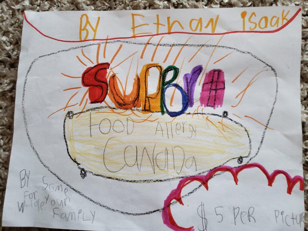 Ethan's artwork