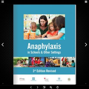Anaphylaxis in Schools & Other Settings, 3rd Edition Revised flipbook