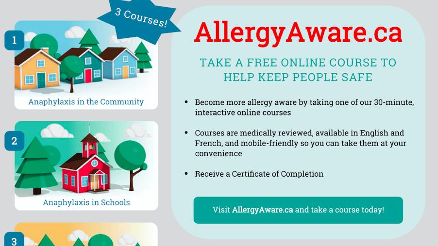 AllergyAware flyer 2021
