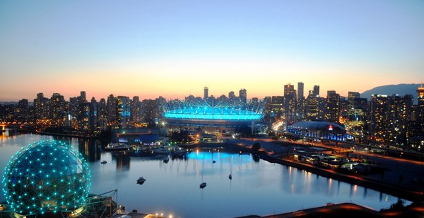 BC Place and Dome at Science World
