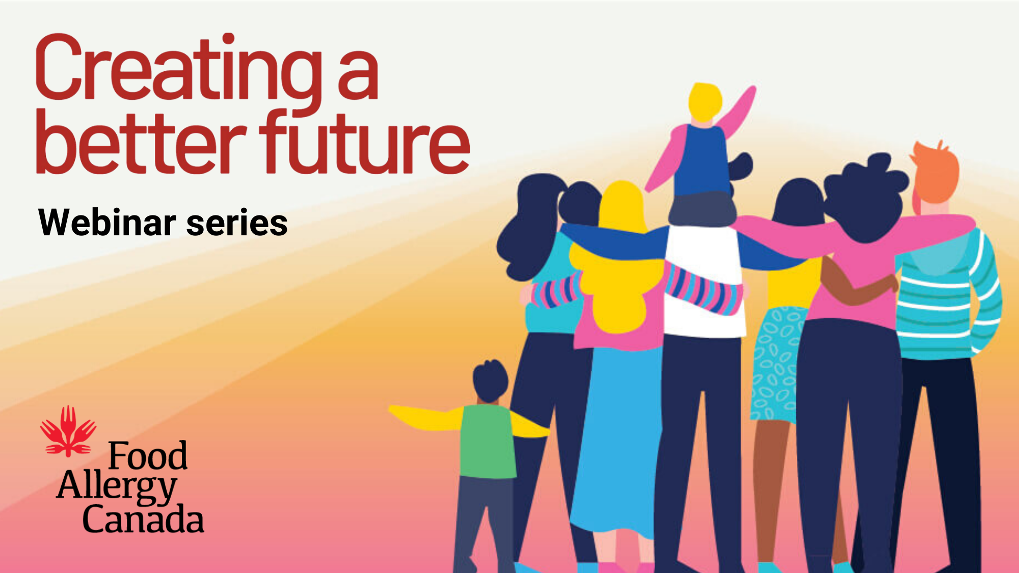 Creating a better future webinar series