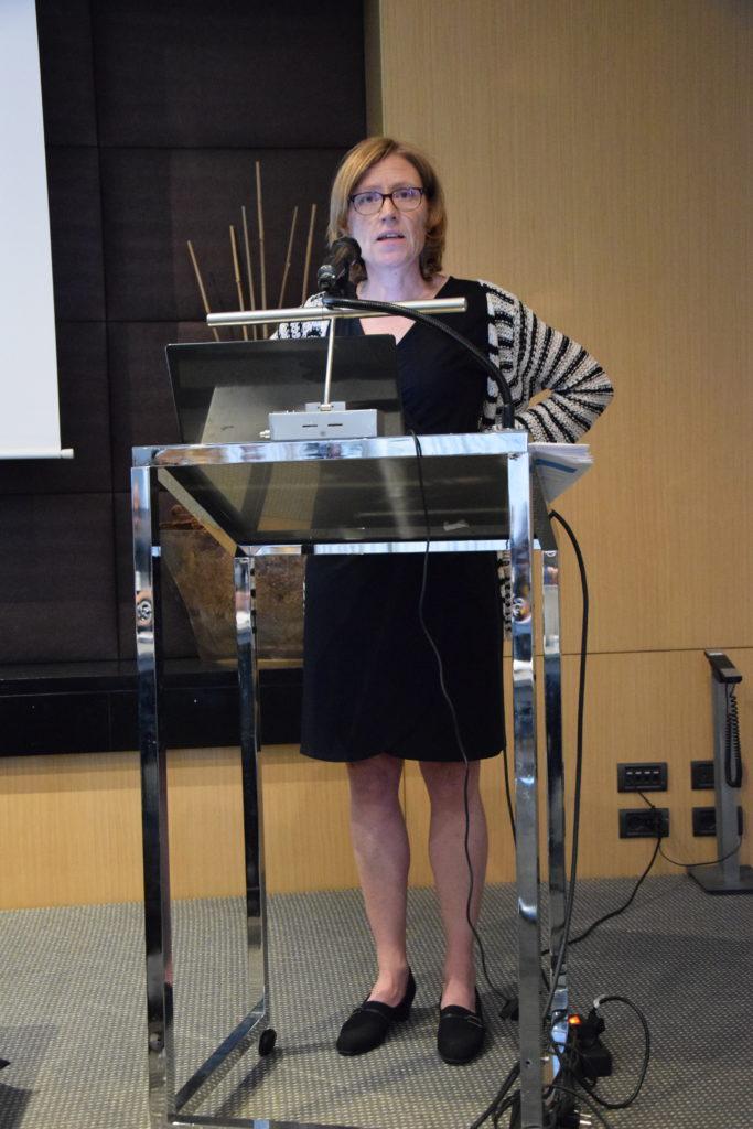 Jennifer presenting at IFAAA