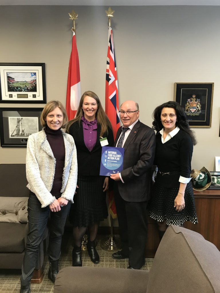 Meeting with MP Dr. Robert Kitchen