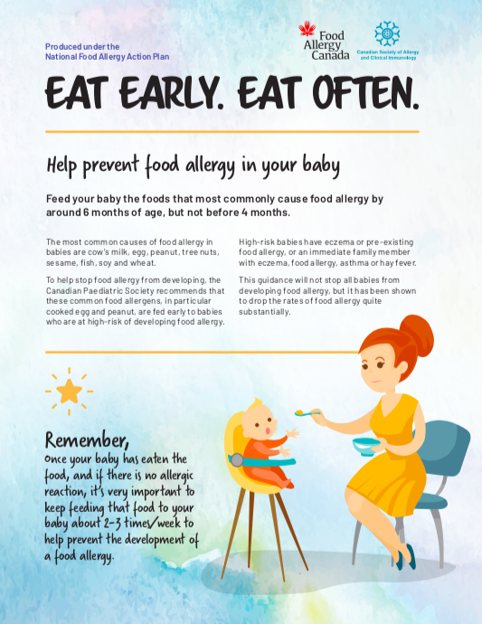 Eat early. Eat often. Cover page