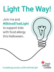Shine a Teal Light Poster 2