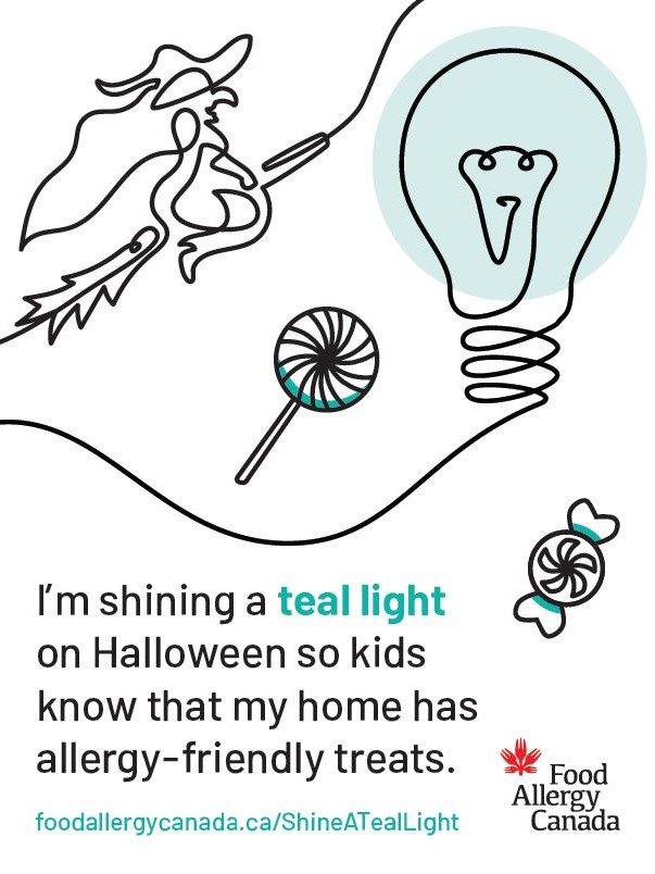 Shine a Teal Light Poster 3