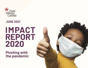 Food Allergy Canada Impact Report 2020