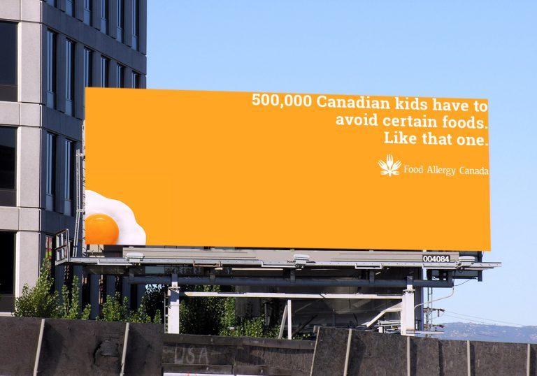 Egg billboard