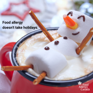 Food allergy doesn't take holidays