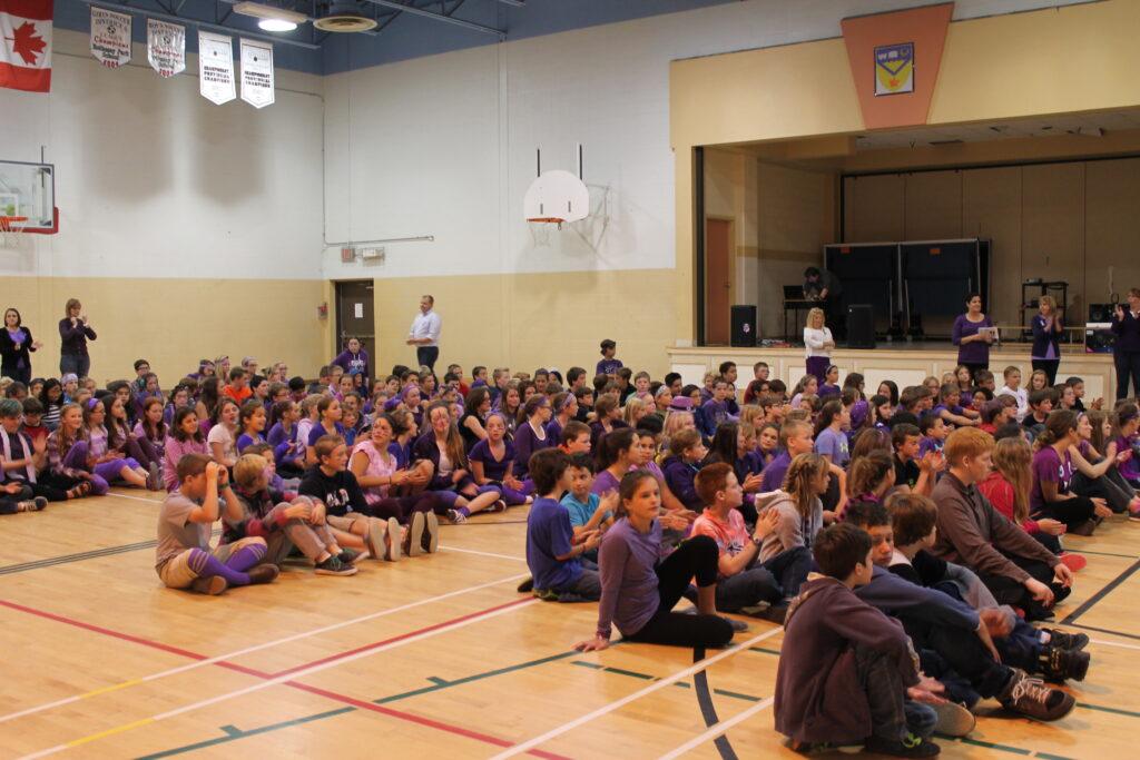 Anglophone South School District/Sweet Caroline Foundation