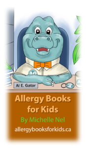 Allergy Books for Kids by Michelle Nel