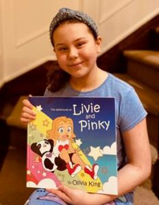 Olivia King and her book