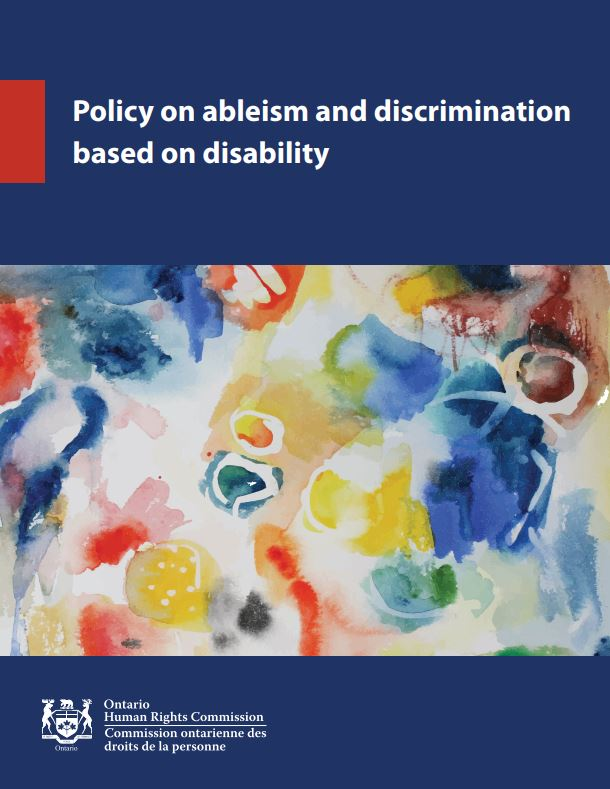 Policy on abelism and discrimination based on disability document