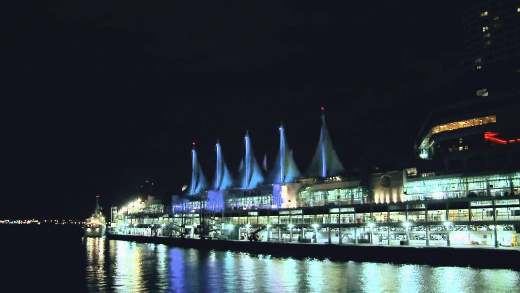 Canada Place Sails of Light