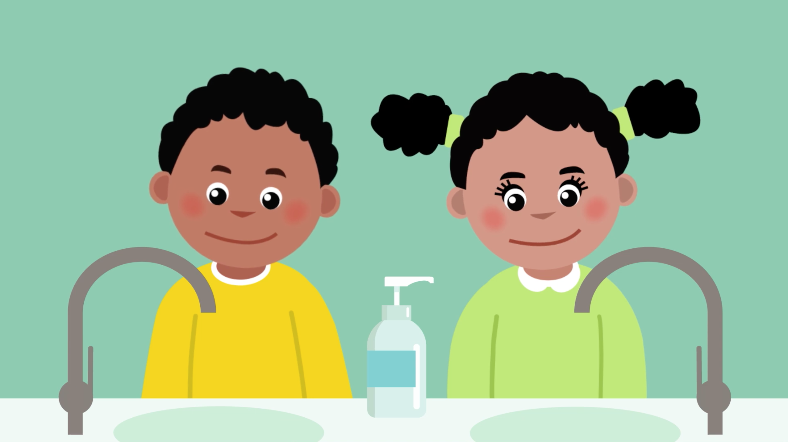 Hand washing video for kids