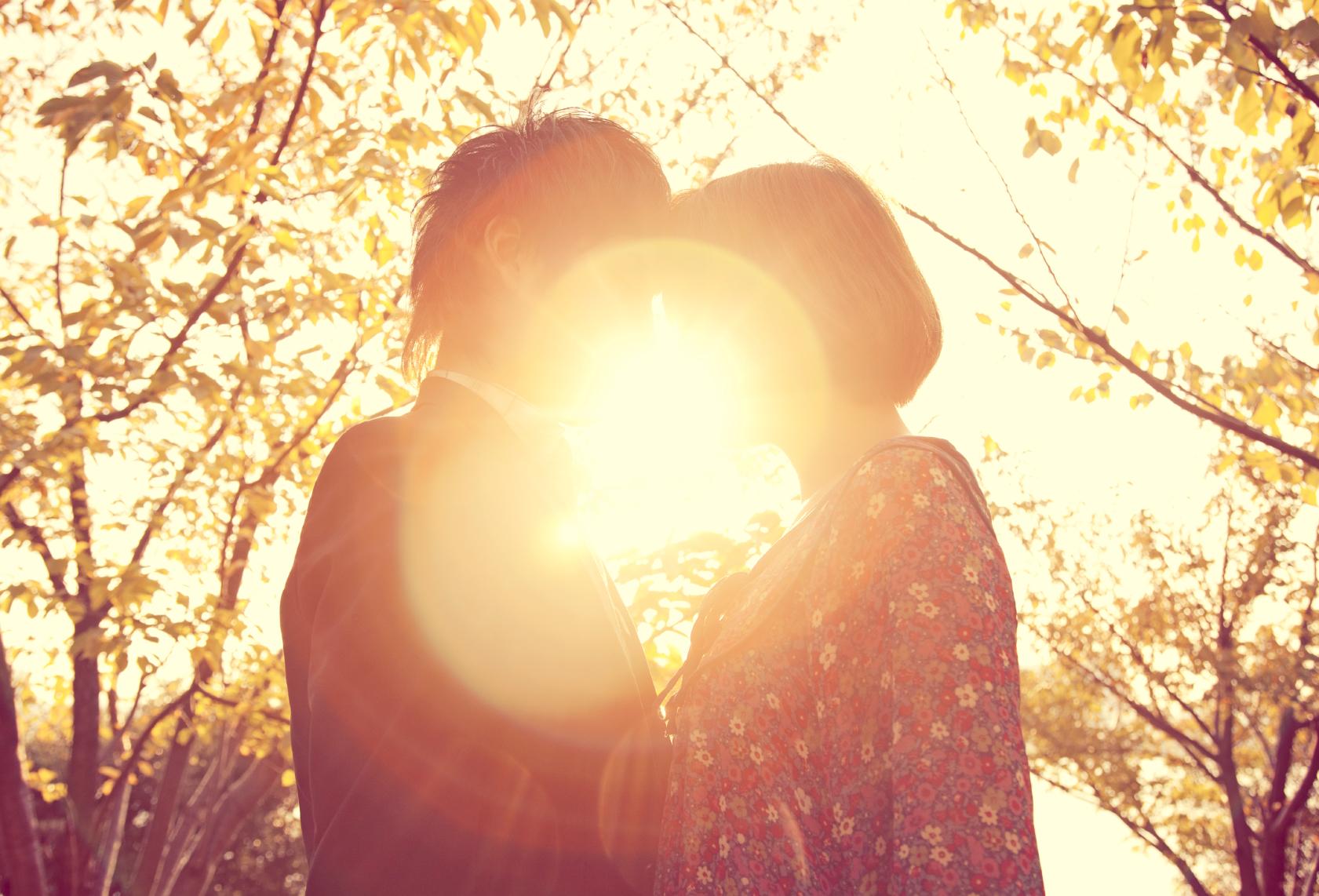 Couple in Sunlight