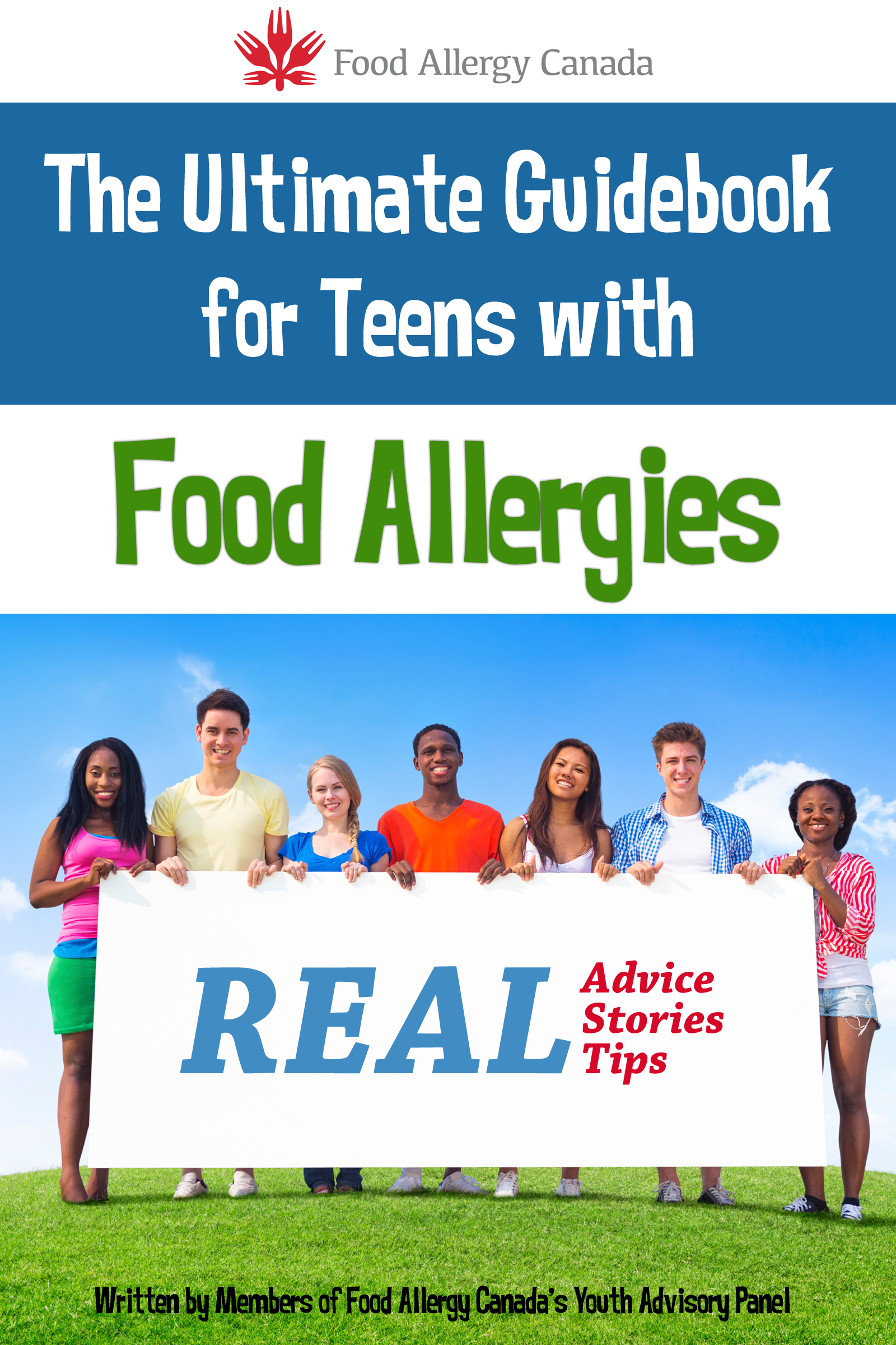 New book for teens with food allergies food allergy canada new book for teens with food allergies forumfinder Image collections