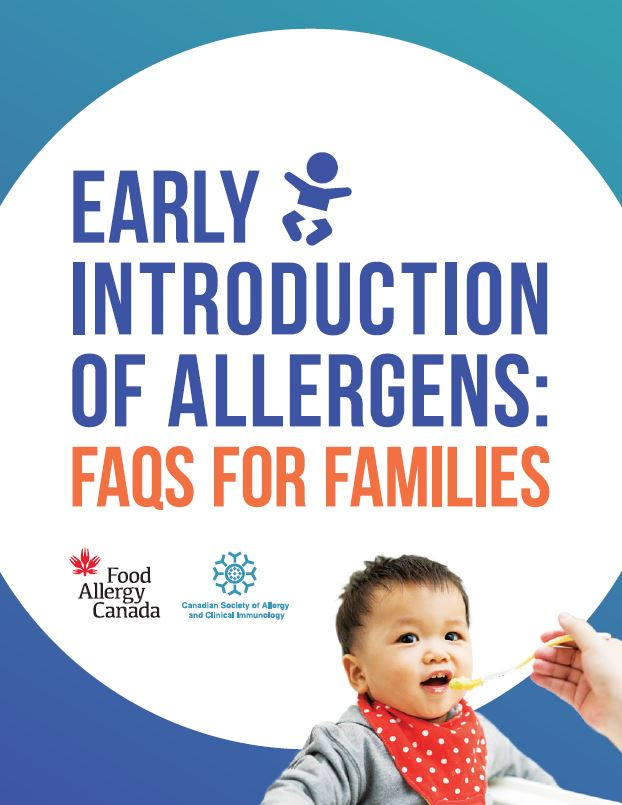 Early introduction of allergens: FAQs for families