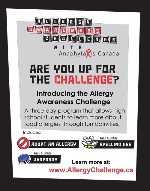 Allergy Awareness Challenge