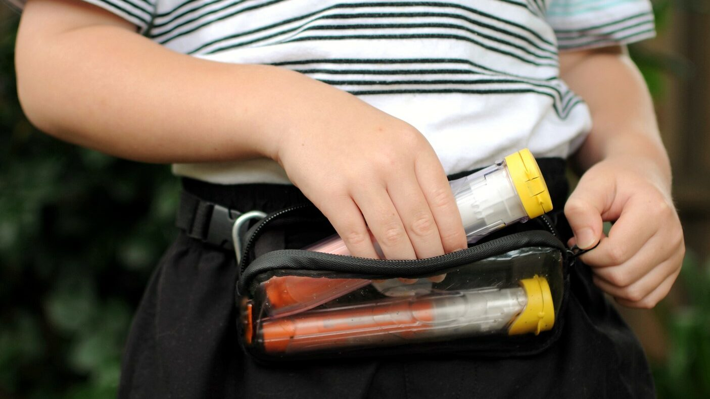 Anaphylaxis Auto injectors in Carry Case