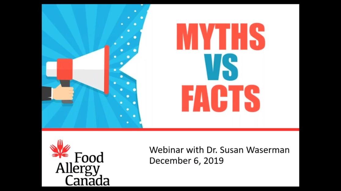 myths vs facts webinar screenshot