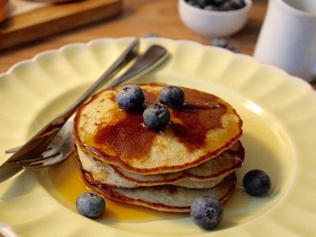 Five-ingredient gluten-free pancakes