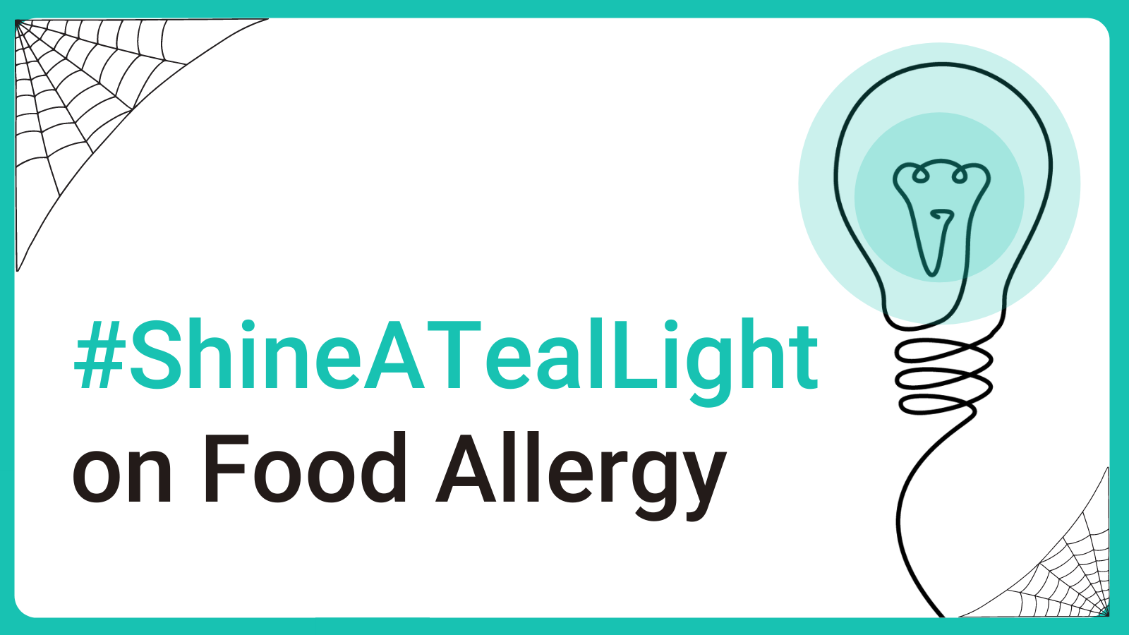 #ShineATealLight on Food Allergy