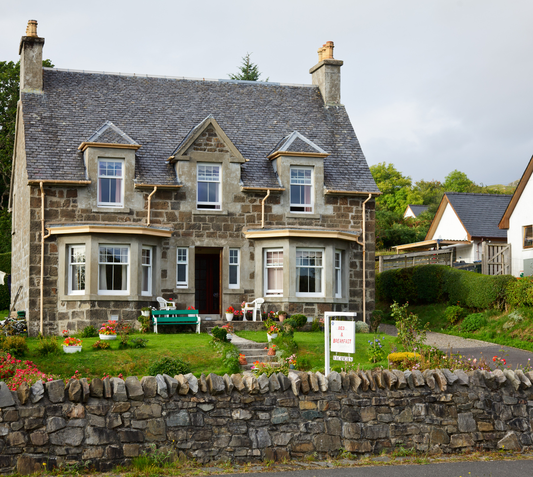 Bed & Breakfast  accommodation in England