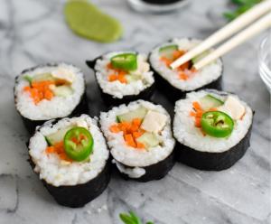 Allergy-friendly sushi