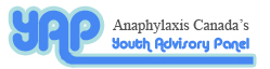 Anaphylaxis Canada's Youth Advisory Panel